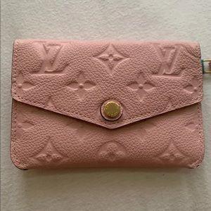Louis Vuitton rose ballerine cles pouch